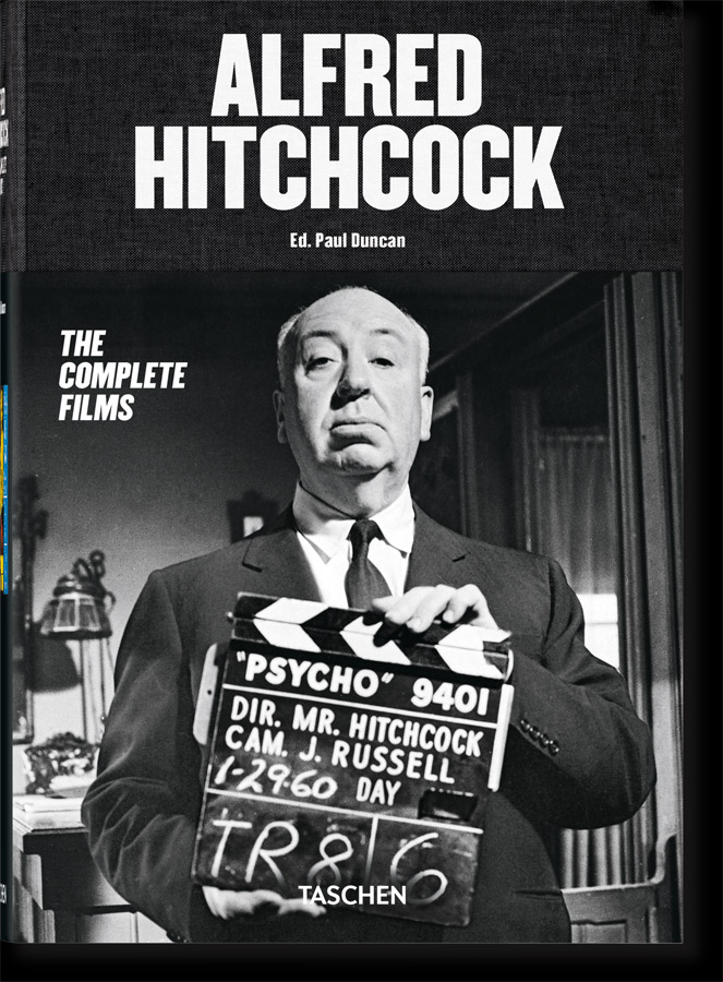 Alfred Hitchcock The Complete Films Hardcover Book