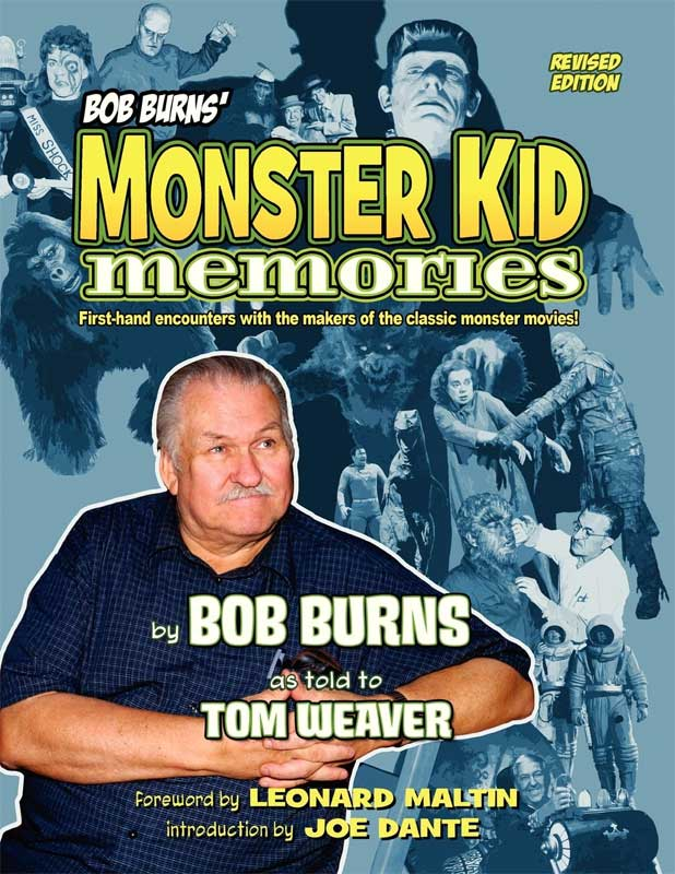 Bob Burns' Monster Kid Memories Paperback Book