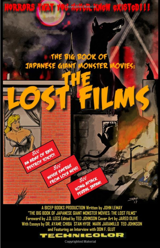 Big Book of Japanese Giant Monster Movies: The Lost Films Book