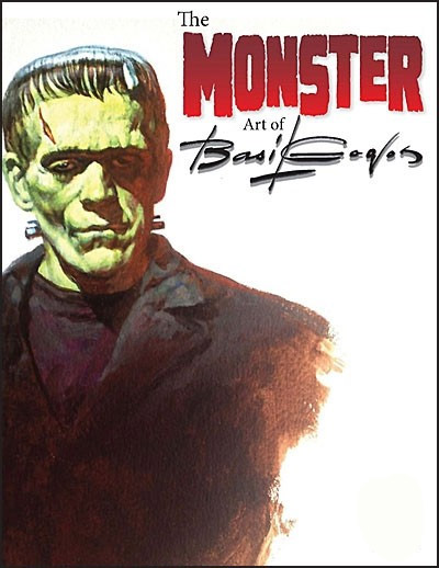 Basil Gogos Monster Art Book (Softcover) by Linda Touby FREE US SHIPPING!