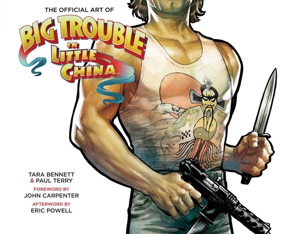 Big Trouble In Little China The Art Of Hardcover Book