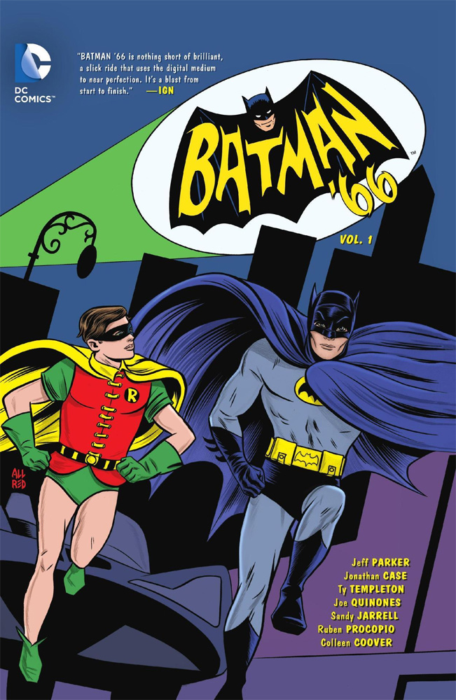 Batman 1966 Comic Book Collection Volume 1 Hardcover Book Issues 1-5