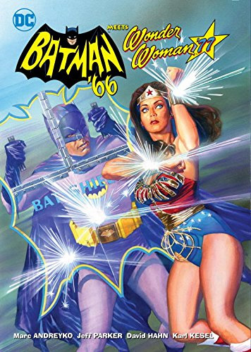 Batman 1966 Meets Wonder Woman 1977 Comic Book Collection Hardcover Book Issues 1-6