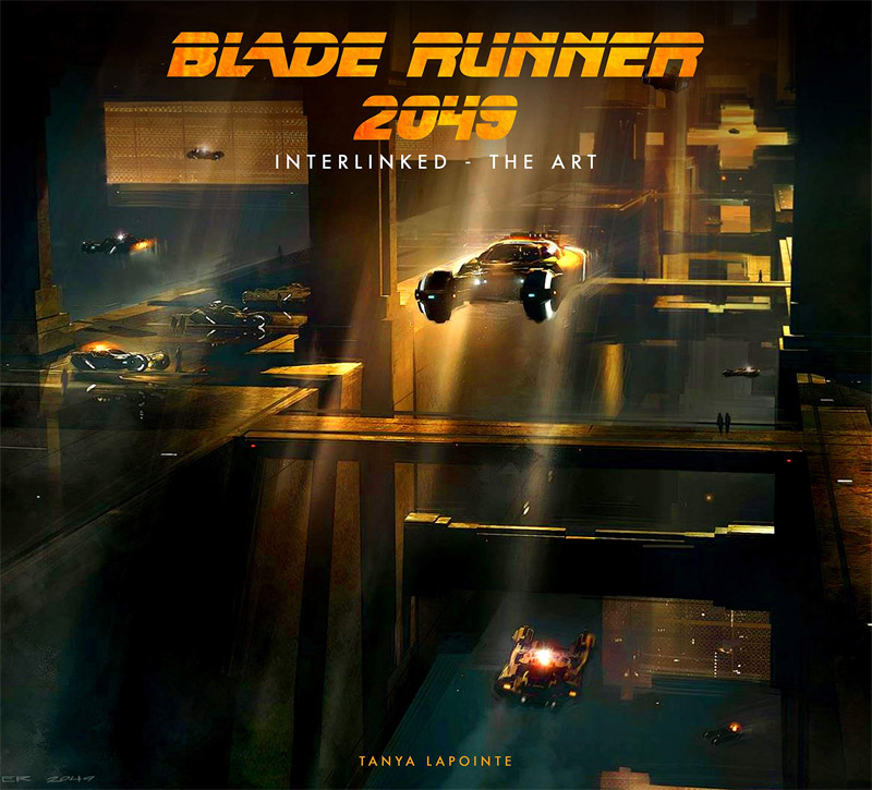 Blade Runner 2049 Interlinked The Art Hardcover Book