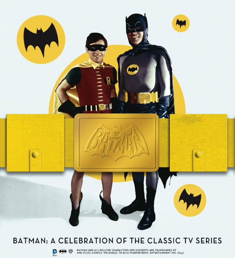 Batman A Celebration of the Classic TV Series Hardcover Book