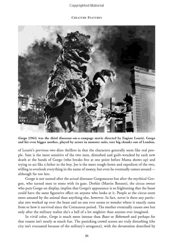 Creature Features Nature Turned Nasty in the Movies Book