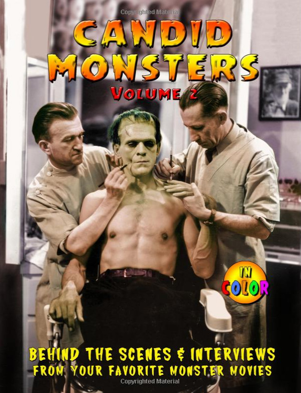 Candid Monsters Volume 2 Softcover Book Ted Bohus