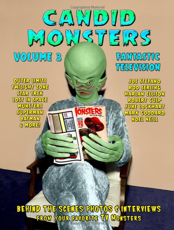Candid Monsters Volume 3 Softcover Book Ted Bohus