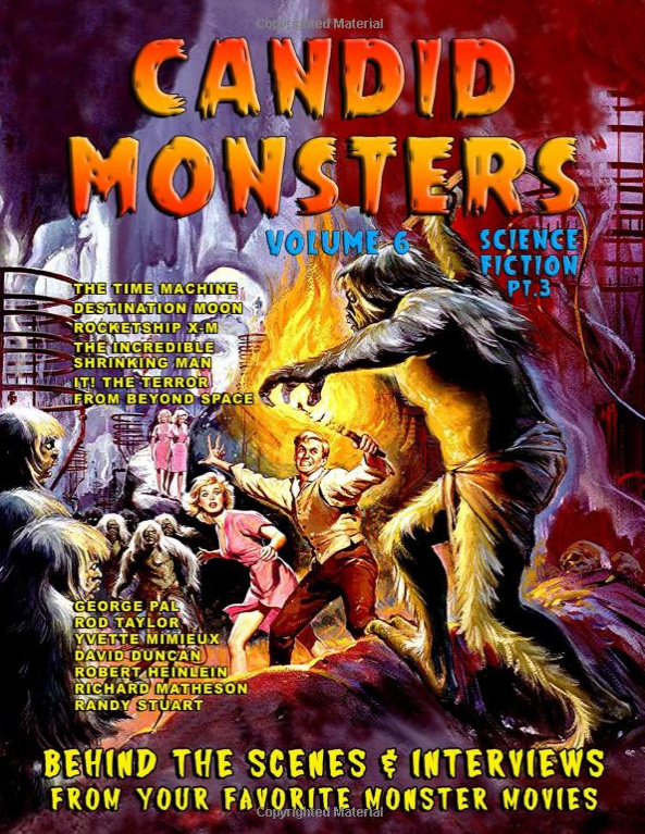 Candid Monsters Volume 6 Softcover Book Ted Bohus