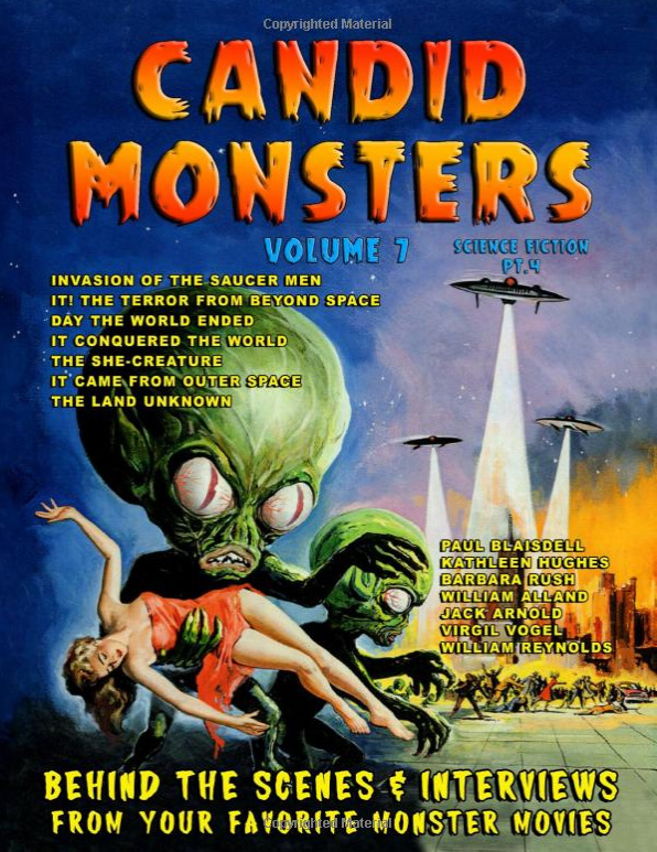 Candid Monsters Volume 7 Softcover Book Ted Bohus