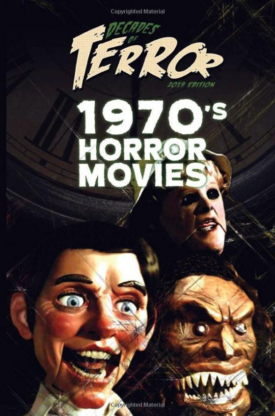 Decades of Terror 2019: 1970's Horror Movies Book