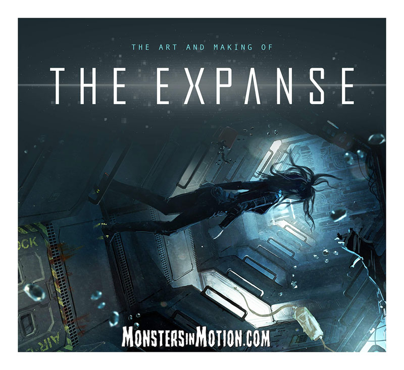 Expanse The Art and Making of The Expanse Hardcover Book