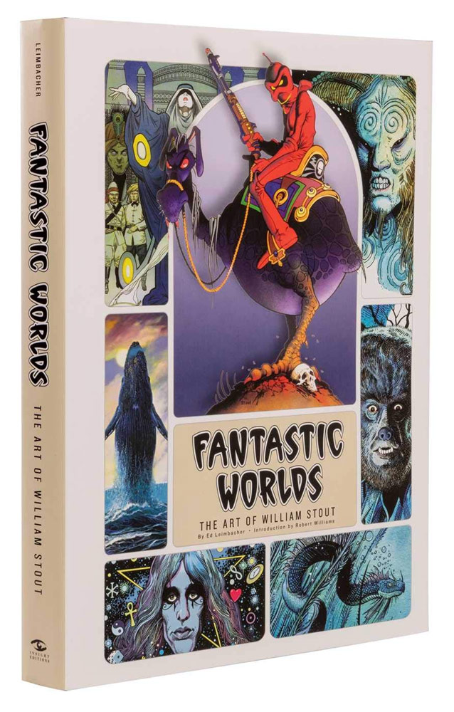 Fantastic Worlds: The Art of William Stout Hardcover Book