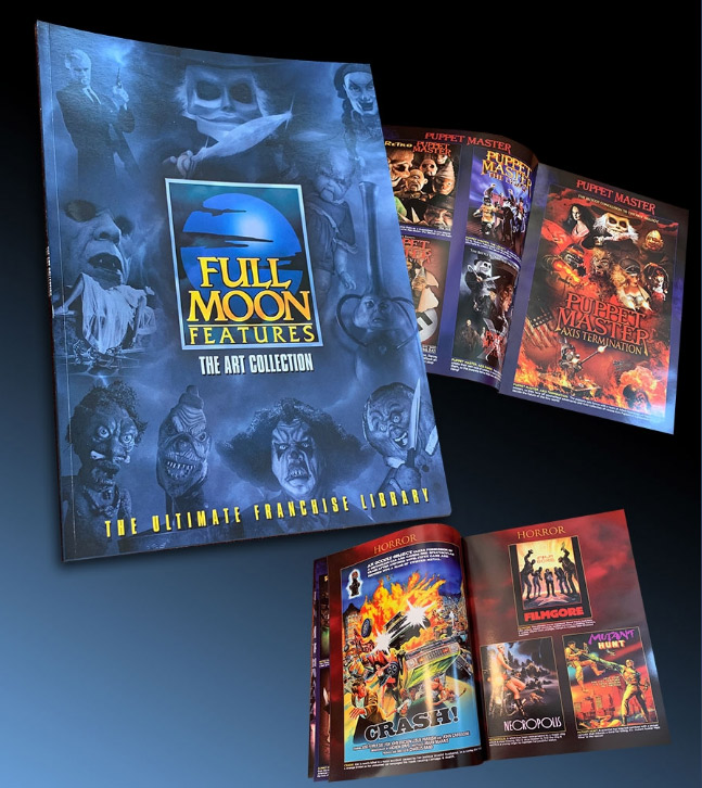 Full Moon Features: The Art Collection Book