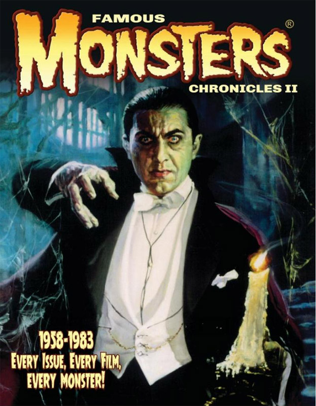 Famous Monsters of Filmland Chronicles II Softcover Book FREE US SHIPPING!