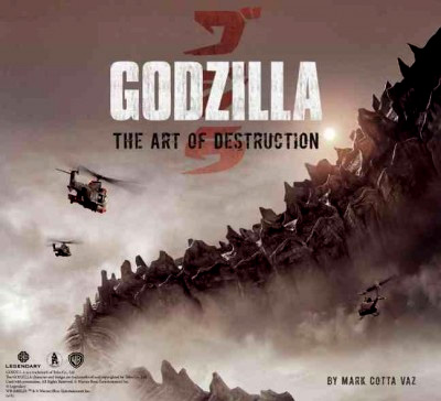Godzilla The Art Of Destruction Hardcover Book 2014: