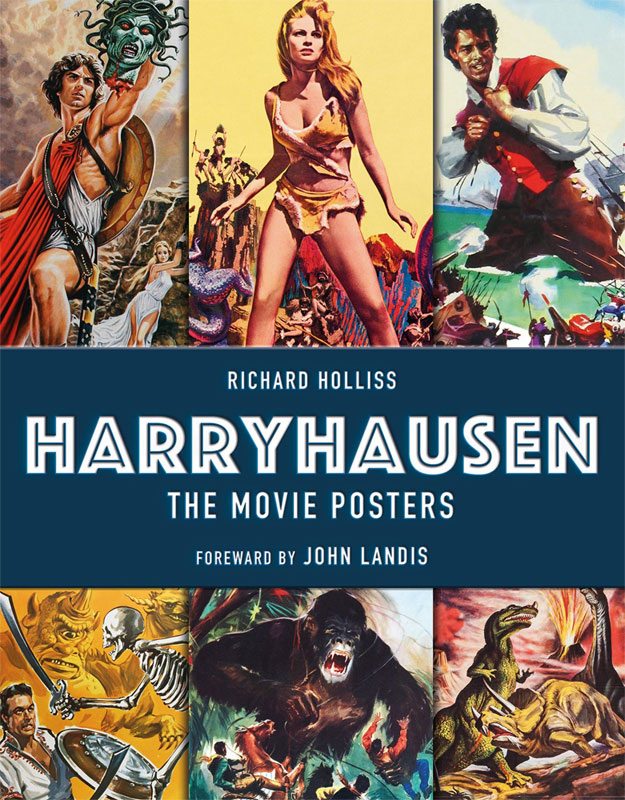 Harryhausen The Movie Posters Hardcover Book