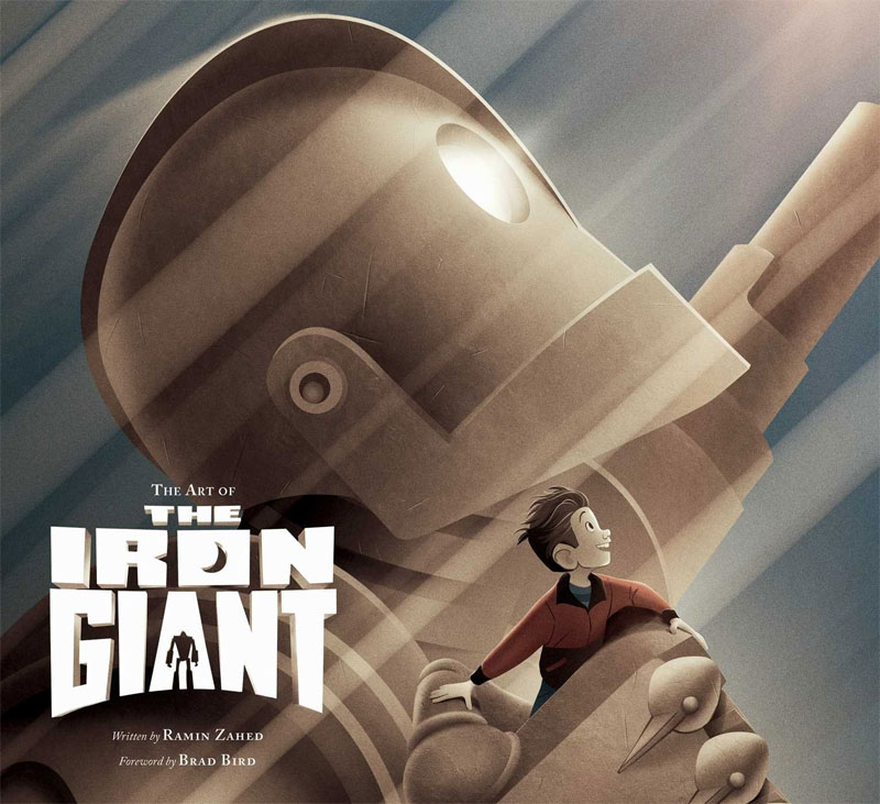 Iron Giant The Art Of Iron Giant Hardcover Book