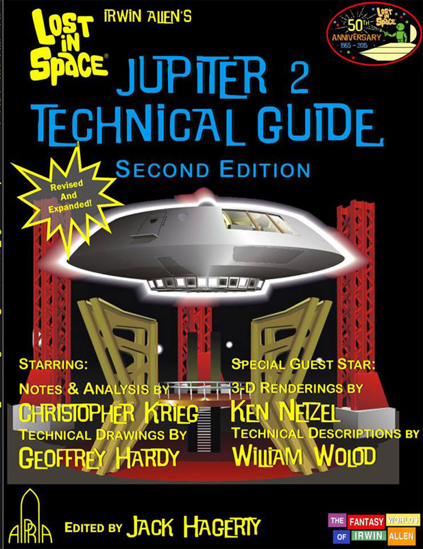 Lost In Space Jupiter 2 II Technical Guide Book Expanded Second Edition