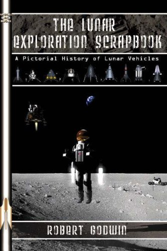 Lunar Exploration Scrapbook Softcover Book