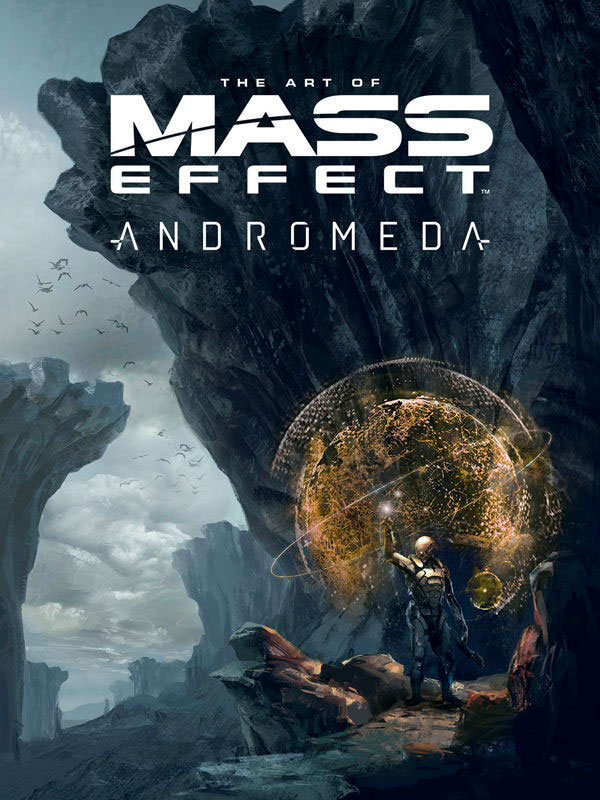 Mass Effect Andromeda The Art Of Hardcover Book