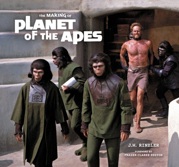 Making of Planet of the Apes Hardcover Book