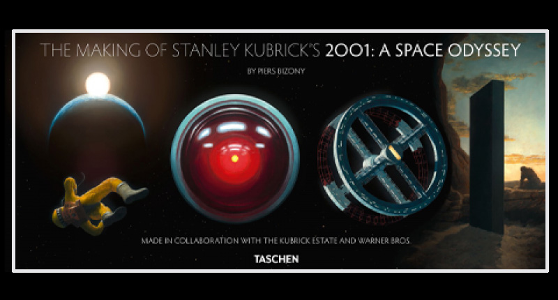 Making of Stanley Kubrick's 2001:A Space Odyssey Hardcover Book