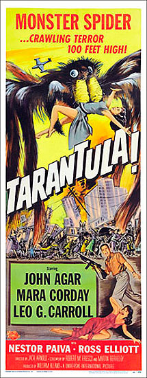 Tarantula 1955 Insert Card Poster Reproduction