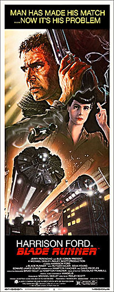 Blade Runner Insert Card Poster Reproduction