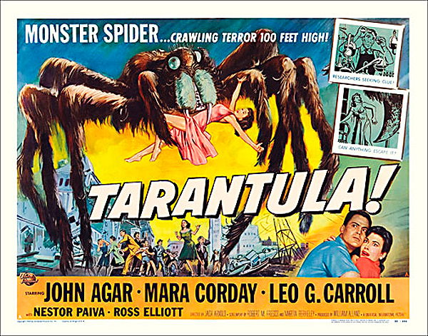 "Tarantula 1955 Style ""A"" Half Sheet Poster Reproduction"
