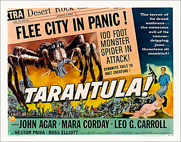 "Tarantula 1955 Style ""B"" Half Sheet Poster Reproduction"