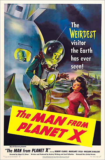 Man From Planet X, The 1951 One Sheet Poster Reproduction