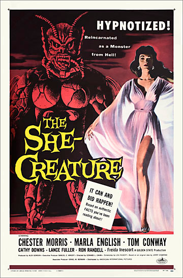 She-Creature, The 1956 One Sheet Poster Reproduction