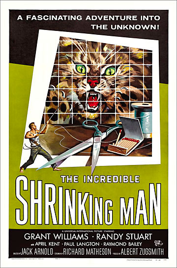 Incredible Shrinking Man, The 1957 One Sheet Poster Reproduction