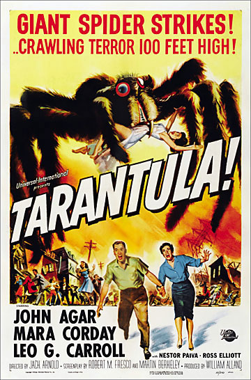 Tarantula 1955 One Sheet Poster Reproduction