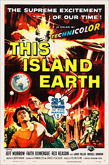 This Island Earth 1953 One Sheet Poster Reproduction