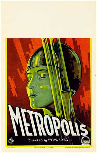 Metropolis 1927 Window Card Poster Reproduction