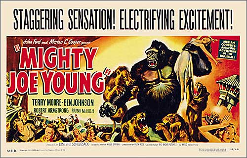 Mighty Joe Young 1949 Window Card Poster Reproduction
