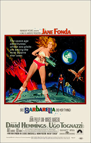 Barbarella 1968 Window Card Poster Reproduction