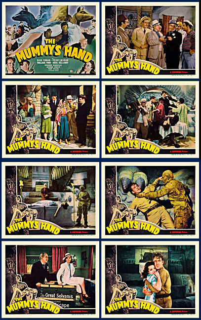 Mummy's Hand, The 1940 Lobby Card Set (11 X 14)