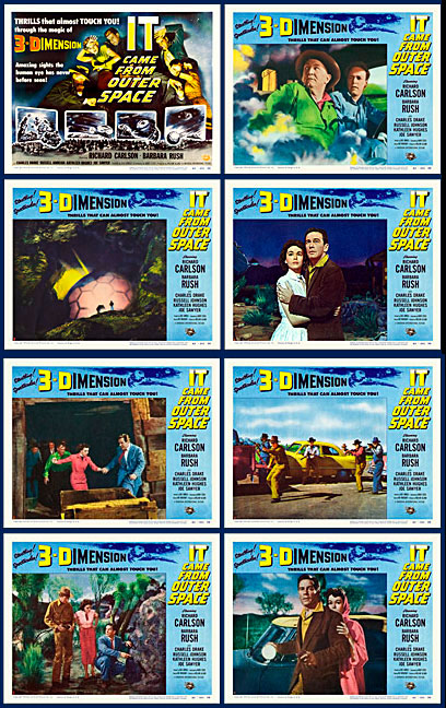 IT Came from Outer Space 1953 Lobby Card Set (11 X 14)