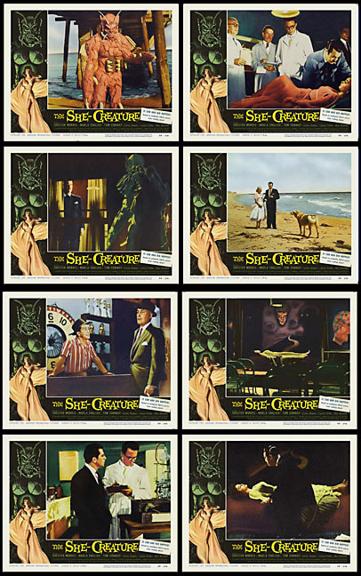 She-Creature, The 1958 Lobby Card Set (11 X 14)
