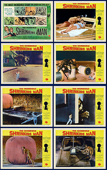 Incredible Shrinking Man 1957 Lobby Card Set (11 X 14)