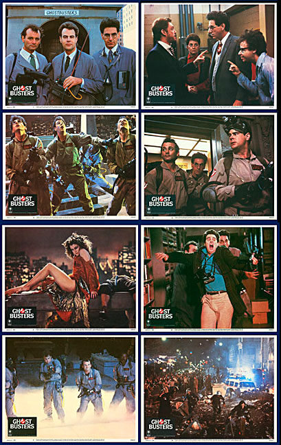 Ghostbusters 1984 Lobby Card Set (11 X 14)