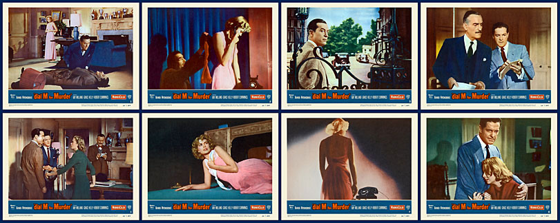 Dial M For Murder 1954 Lobby Card Set (11 X 14) Alfred Hitchcock