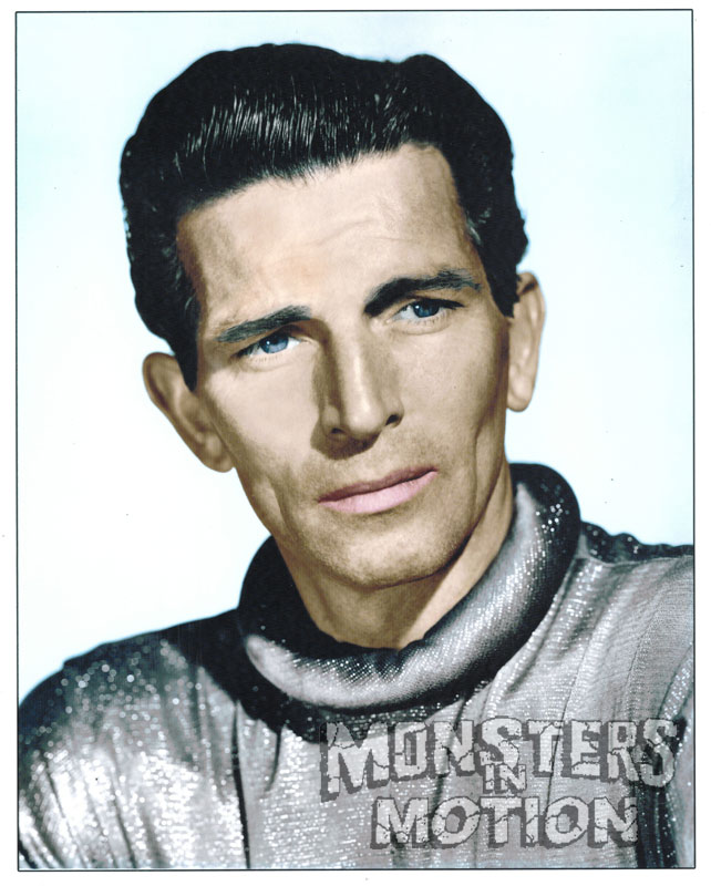 Day The Earth Stood Still Klaatu Michael Rennie Color 8 X 10 Photo