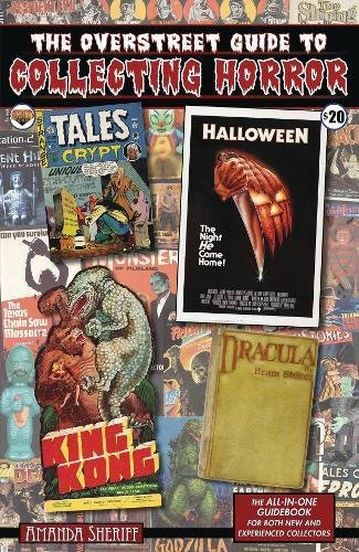 Overstreet Guide To Collecting Horror Paperback Book