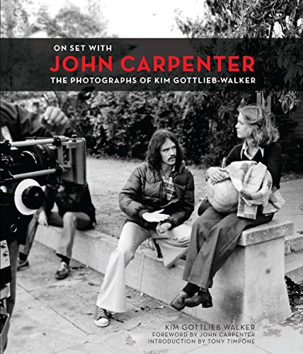 On Set with John Carpenter Hardcover Book