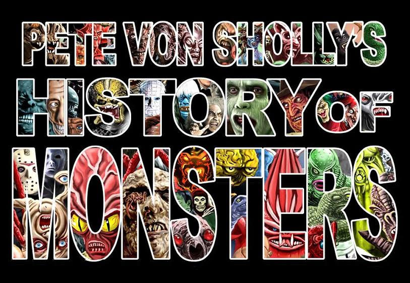 Pete Von Sholly's History of Monsters Art Book