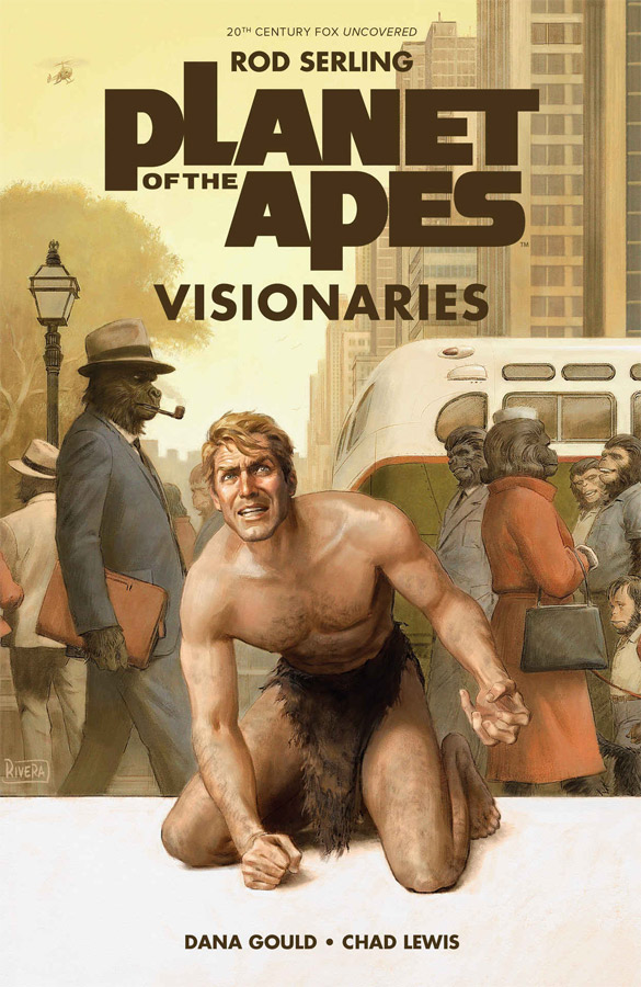 Planet of the Apes Visionaries Hardcover Book Rod Serling